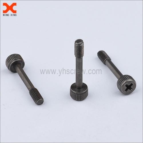 A2 stainless steel black nickel metric captive panel screws