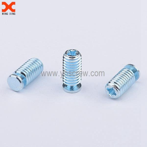 Zinc plated pozidriv aluminum set screws wholesale