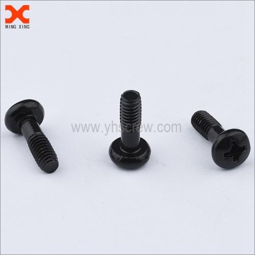 pan head philip drive black captive screws for sheet metal