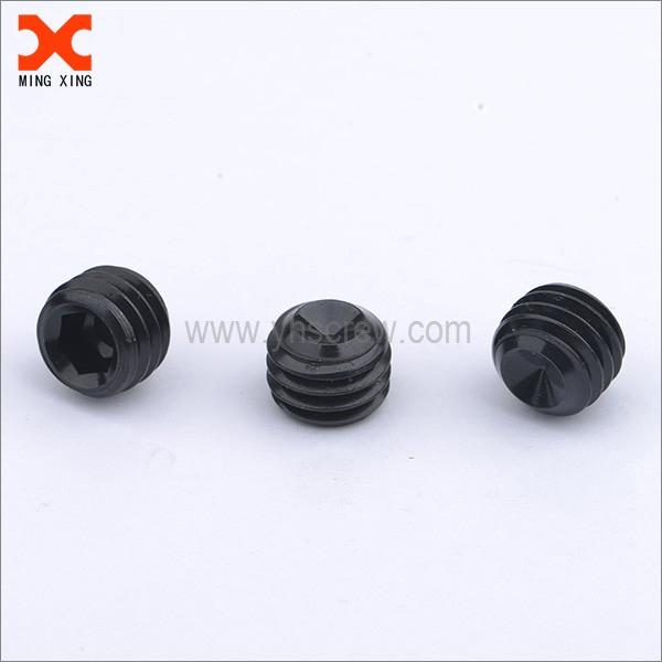 M10 black phosphating set screw cone point | Set screws
