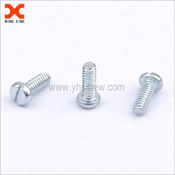 stainless steel round head slotted machine screws