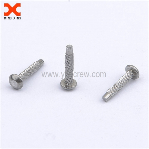 Hammer drive screw U drive screw supplier 18-8 grade .