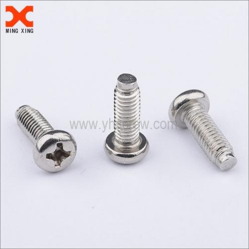 m6 self aligning cross recessed pan head machine screw