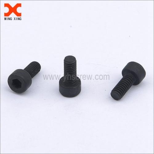black oxide hex drive socket cap screw
