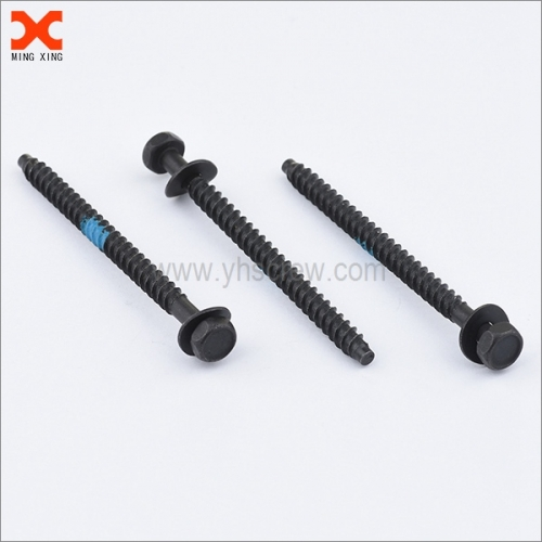 indented hex washer head sems bolts screws with wave washer