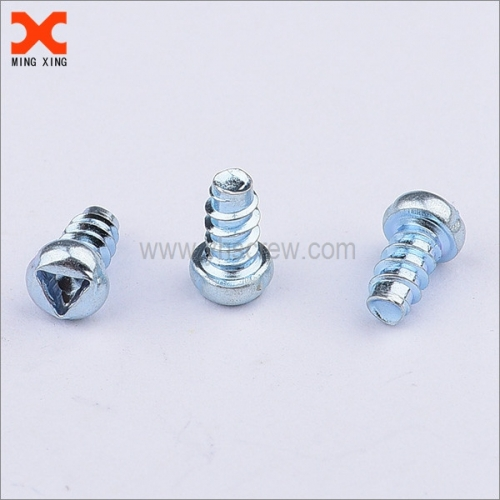 Triangle screw security screw pan head removable