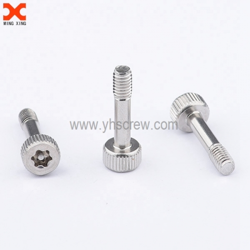 torx pin knurled thumb screws stainless steel