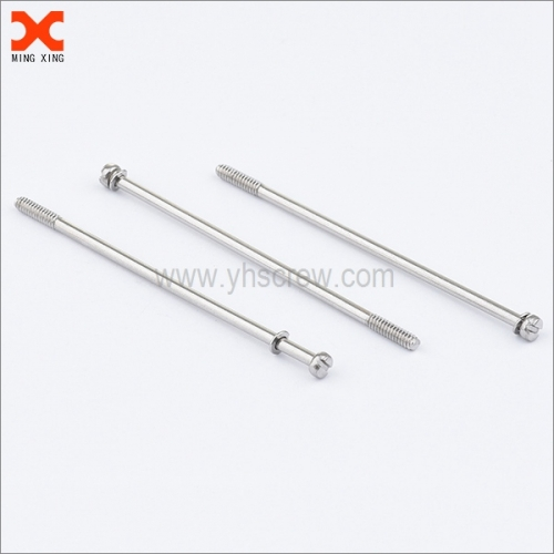 sems slotted cheese head long stainless steel bolts wholesale