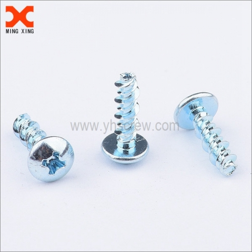galvanized high low thread dome head self tapping screws