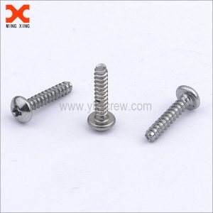 taptite thread forming phillips drive dome head screws