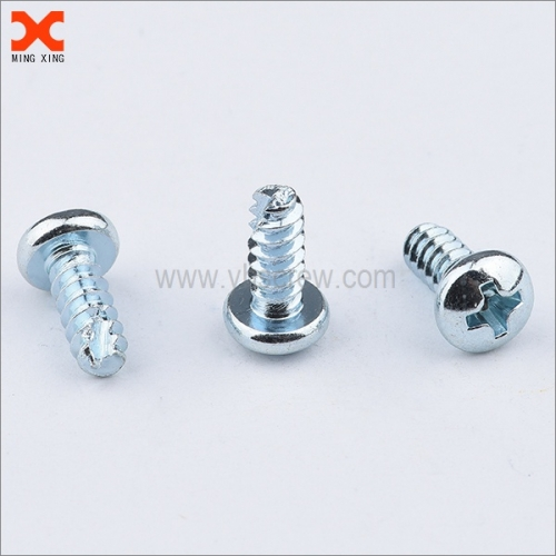Phillips pan head sheet metal screw T type