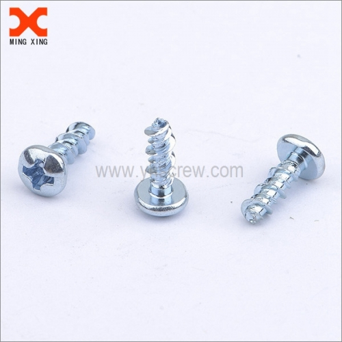 Galvanized sheet metal screws Phillips pan head
