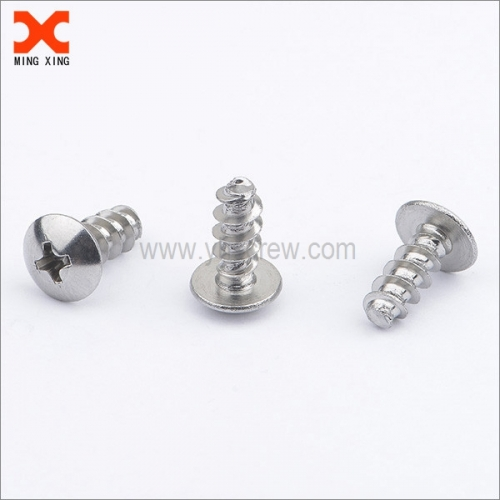 Self-tapping plastic screws truss head phillips drive